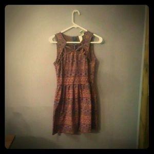 A fall dress